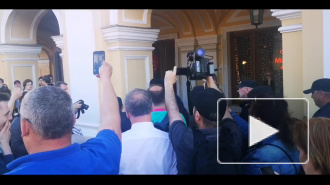 """Видео: на акции движения """"Весна"""" в Петербурге начались задержания"""