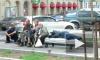 Центр Петербурга оккупировали спящие бомжи