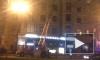 В Петербурге за ночь сгорели баня и BMW
