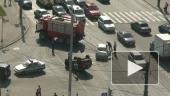 Жесткая авария на проспекте Ветеранов
