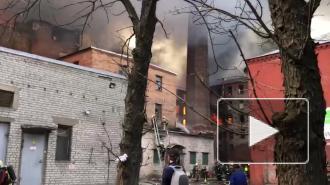 """Беглов заявил о необходимости восстановить здание сгоревшей """"Невской мануфактуры"""""""