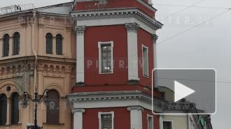 Часы на Думской башне в Петербурге остановились