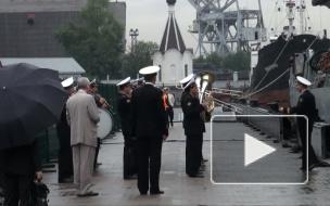 """Патрульный корабль ВМС Ирландии """"Роисин"""" прибыл в Петербург"""