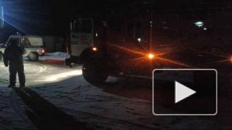 Под Свердловском спасли двух юных рыбаков на льдине