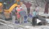 Жуткое видео из Самары: на рабочего упал кран