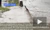 Потоп в Красносельском районе: улица Котина тонет