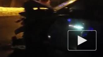 Появилось видео с места жесткого ДТП в Колтушах