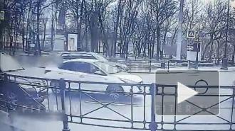 На пересечении Московского и набережной Фонтанки сбили велосипедиста