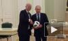 100 дней до старта ЧМ - 2018: Путин и Инфантино сыграли в футбол в Кремле