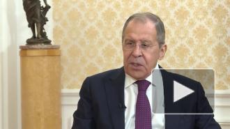 Лавров раскритиковал позицию некоторых политиков по Казахстану