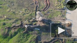 Опубликовано видео уничтожения позиций ДНР украинскими военными ВСУ