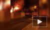 Видео: в Мурино ночью сгорел дом по шоссе Лаврики