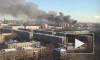 На проспекте Обуховской обороны в Петербурге тушат пожар третьего номера сложности