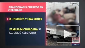 В Мексике в автофургоне нашли тела девяти человек