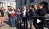 """Видео: в Петербурге стартовала акция против """"полицейского произвола"""""""