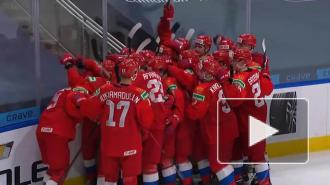 Российская молодежка обыграла в овертайме Швецию на ЧМ мира по хоккею