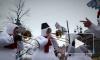 На площади Островского открылась Рождественская ярмарка