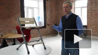 Петербургский врач придумал инновационный стул для школьников