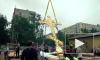 Православный храм на проспекте Науки получил новый 4-метровый крест