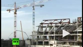 """Количество рабочих на стадионе """"Зенит-Арена"""" вырастет до 2,5 тысяч"""