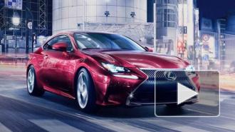 Lexus показал интернет-сообществу новый RC Coupe