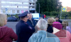 Градозащитники перекрыли проспект Стачек необычным образом