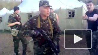 Новости Украины 24.04.2014. Бунт резервистов украинской армии попал на видео, став хитом интернета
