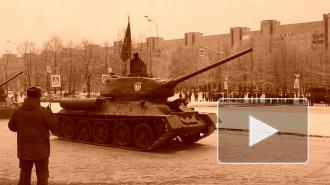 На параде в честь 70-летия снятия блокады прошли Т-34 и полуторки