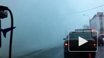 Разлив кипятка на Шлиссельбургском обернулся экстримом для водителей