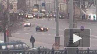 Дагестанец на старом Passat атаковал Кремль