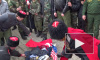 Кубанские казаки сожгли чучело Эрдогана и Обамы