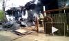 Жуткое видео из Тобольска: мужчина заживо сгорел в пожаре