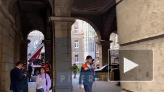 В Петербурге рухнул балкон с исторического дома, где жил врач Боткин