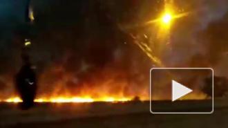 Под Ростовом потушили крупный ландшафтный пожар на площади 5 га