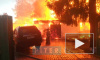 """В садоводстве """"Лотос-2"""" сгорел дом, баня и машина: люди смогли спастись"""