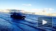 Вышедшая из берегов Нева затопила Университетскую ...