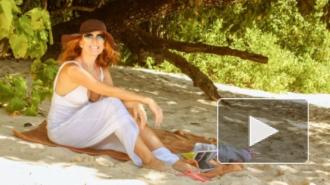 Последние новости о Жанне Фриске: фото певицы с пляжа порадовали поклонников - видно, что артистка поправляется