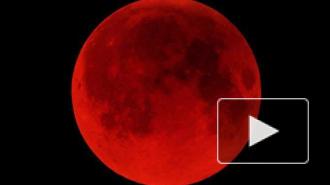 """Лунное затмение 15 апреля: земляне увидели """"кровавую луну"""""""