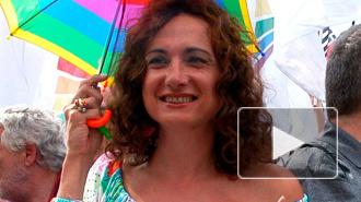 В Сочи задержали депутата итальянского парламента с радужным флагом