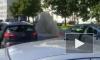 Видео: улицу у Полюстровского рынка полностью затопило