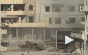 Уничтожение сирийского Т-72 в Дамаске попало на видео