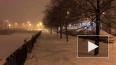 Видео: Петербург накрыл аномальный снегопад, на улицы ...