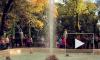 Посетители пришли в Летний сад попрощаться с фонтанами