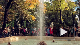 В Летнем саду попрощались с фонтанами