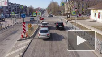 Видео: в Выборге проверили качество ремонта дорог в Южном микрорайоне