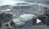 А вдруг поможет: в Петербурге помолились о достройке стадиона на Крестовском