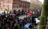 Субботнюю акцию оппозиции в Петербурге «За честные выборы» возглавили москвичи