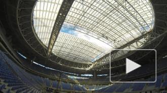 Появилось видео успешных испытаний великолепной крыши «Зенит-Арены»