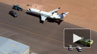 В США пилот застрелился в угнанном самолете