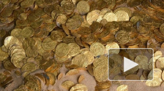 Дайверы нашли в Израиле клад золотых монет